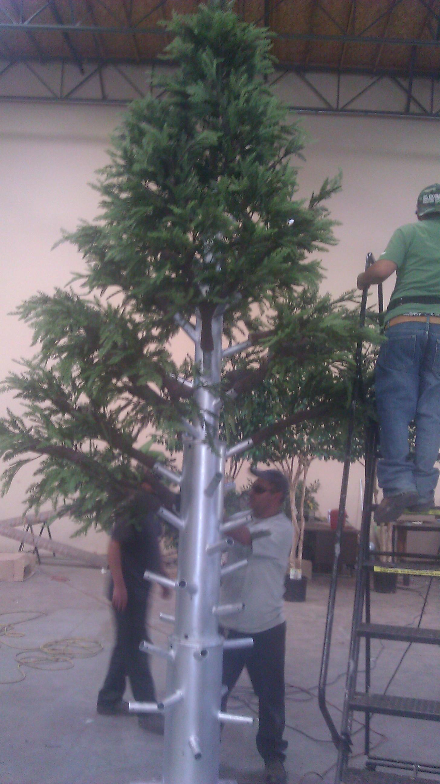 Custom Made Palm Trees Fabricated Trees